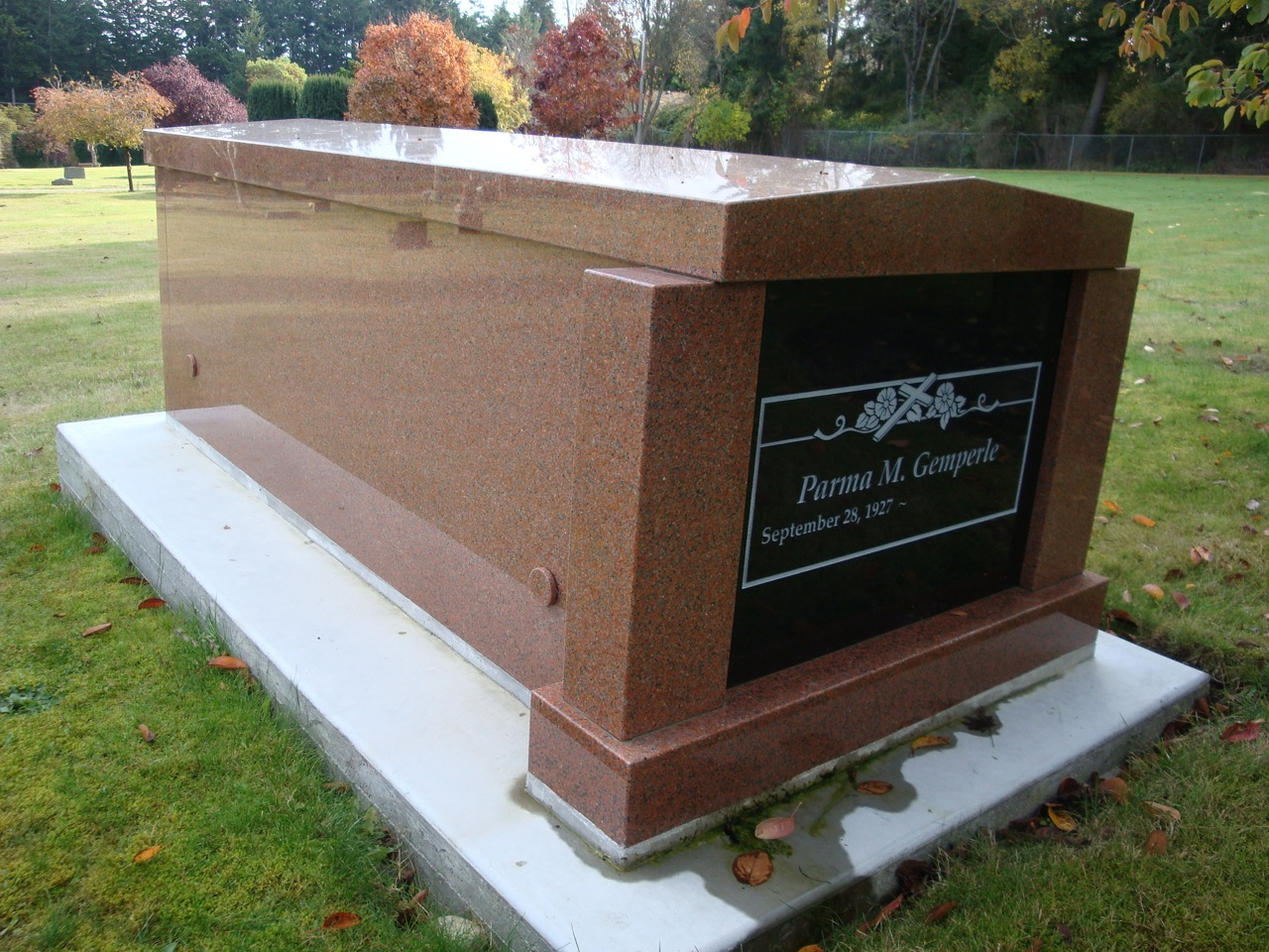 Granite Columbarium And Mausoleum Units Pacific Coast